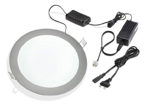 Esotec 201216 MURALE LED LAMPE MURAL RONDE 6000 K Blanc froid