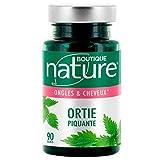 Boutique Nature - Complément Alimentaire - Ongles & Cheveux - Ortie Piquante - 90 Gélules Végétales - Purifie la peau, les ongles et cheveux