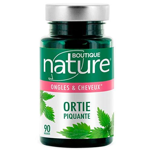 Boutique Nature - Complément Alimentaire - Ongles & Cheveux - Ortie Piquante - 90 Gélules...