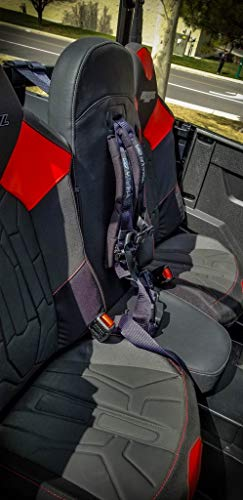 General Rear Bump Seat with 4-point Harness