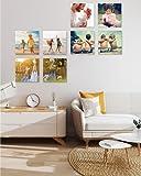 Cuadro Personalizado con tu Foto. Impresión de Foto sobre cartón Pluma Ultra Ligero(2, 30x30cm)