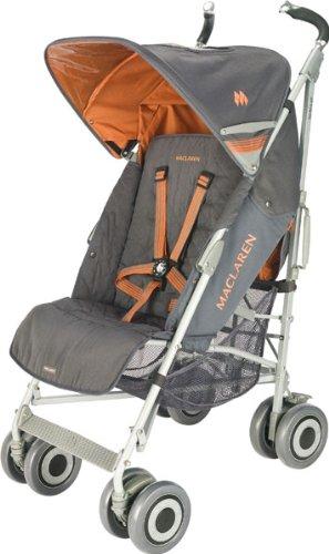 Maclaren WOX13032 - Silla de paseo (cubierta desmontable, cesta, burbuja de lluvia incluida, manillar ajustable)
