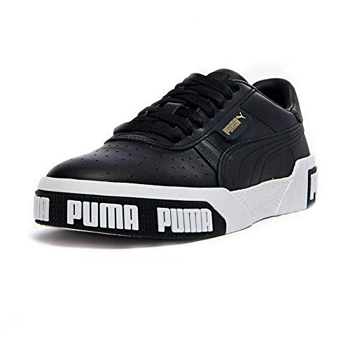 Puma Damen Cali Bold WN's' Sneaker, Black-Metallic Gold 03, 39 EU