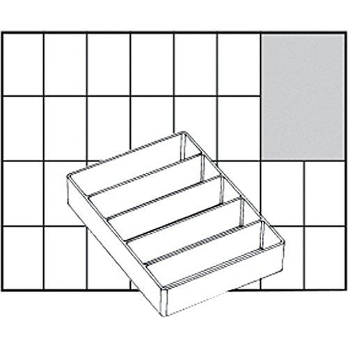 Caja de inserción, tamaño 109x79 mm, Tipo A75 - media altura, 1 pieza