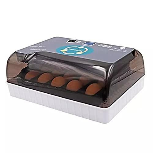 BETTKEN Incubadora Digital Automática 12 Huevos, Incubadora Práctica Gran Capacidad para Pollos, Aves Corral, Huevos Codorniz, Uso Doméstico Incubadora de Huevos