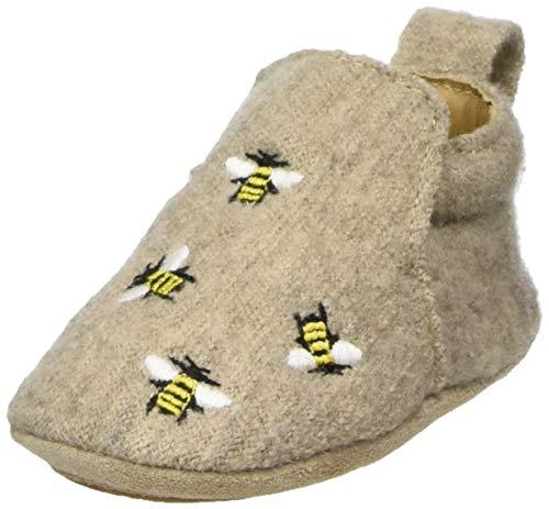 Haflinger Unisex-Erwachsene Lauflernschuh Bee Hausschuh, papiermeliert öko, 20