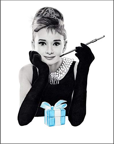 4Good Epictures Audrey Hepburn poster A3 en A4 Breakfast at Tiffany afbeeldingen set woonkamer slaapkamer WBE1