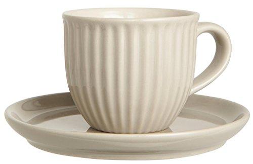IB Laursen Tasse mit Unterteller Mynte latte