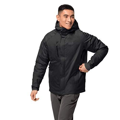 Jack Wolfskin Herren Troposphere Jacket M Wetterschutzjacke, black, XL