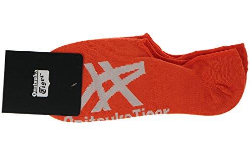 Onitsuka Tiger Herren Invisible Okg510-23 Socken, Orange (Orange Okg510-2301), One Size (Herstellergröße: S)