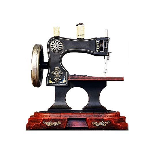 Máquina De Coser Retro Decoración Modelo Vintage Tienda De Ropa Decoración De Bar Recuerdos Máquina De Coser Decoración Artesanías