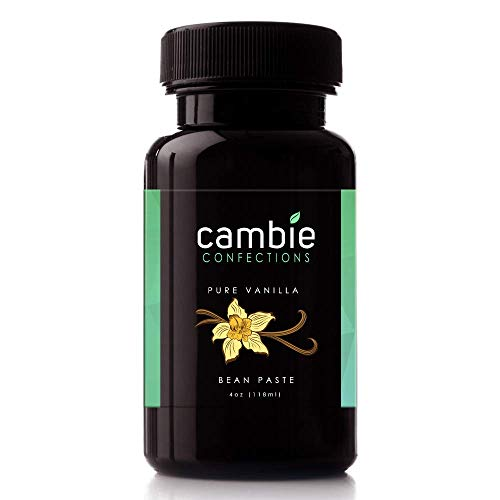 Cambie Confections Pure All-Natural Vanilla Bean Paste