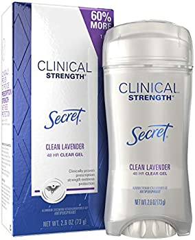 Secret Antiperspirant Clinical Strength Deodorant Clean Lavender, 2.6 oz