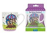 Trötsch Der kleine Maulwurf Kindertasse Regenschirm: Geschenktasse aus Porzellan (Geschirr)
