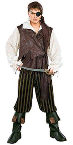 Rubie's Pirates of the Seven Seas Caribbean Pirate – Adult Standard Costume