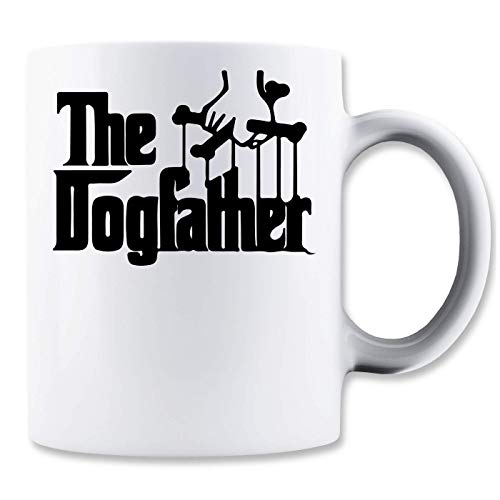 ShutUp The Dogfather Logo Taza para Café y Té