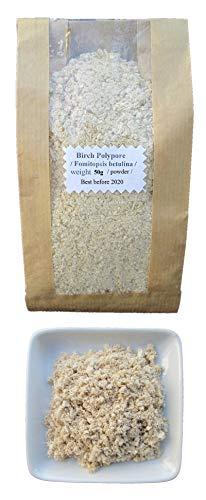 50g Wild Birch Polypore/Birkenporling Piptoporus/Betulinus Heilpilz Dried powder