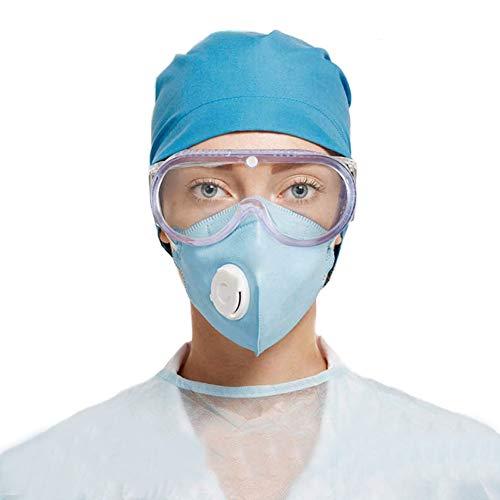 Gafas de Seguridad,Lentes de Seguridad antivaho Prevención Polvo Prueba de Impacto Arena a Prueba de Viento Para Anti Salpicaduras para Laboratorio, Agricultura, Industria 🔥
