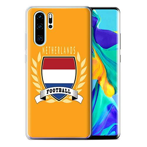 eSwish telefoonhoesje/Cover/Skin/HUA-GC/Voetbal Embleem Collectie Huawei P30 Pro 2019 Netherlands/Dutch