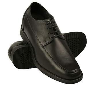 Zerimar Zapatos con Alzas Interiores para Hombres Aumento 7 cm | Zapatos de Hombre con Alzas Que Aumentan Su Altura | Zapatos Hombre Invierno