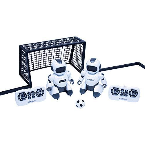 Juguetrónica JUG0324 Soccerbot Arena, Blanco...