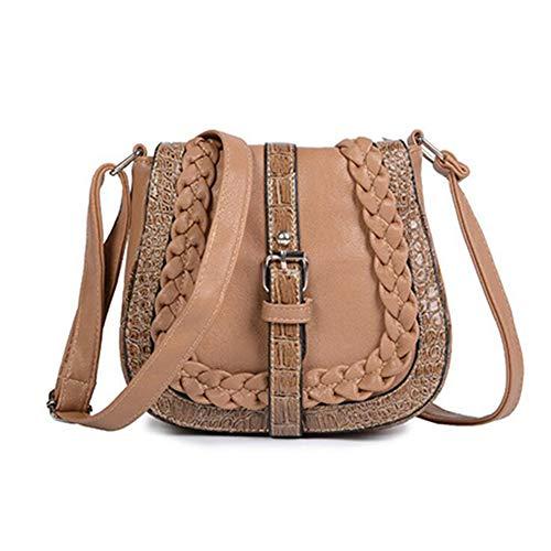 TnXan Frau Messenger Bags Fashion National Wind Umhängetasche Stricken Umhängetasche Handtaschen Hohe Qualität