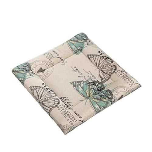 Zitkussen buiten eetkamerstoel tuinstoel kussen Dik en ademend antislip huis keuken of autostoel tatami kussen tuin duurzaam restaurant,A