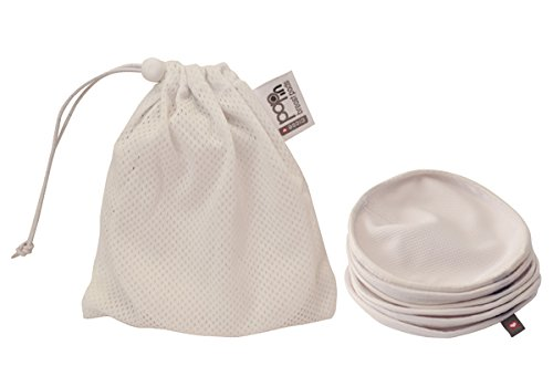 Pop-In Reusable Breast Pads with Wash Bag by Pop- In