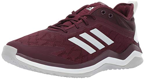 adidas Men's Speed Trainer 4, Maroon/Crystal White/Black, 14 M US