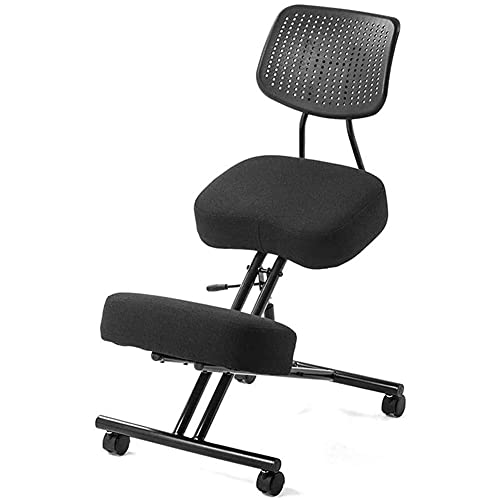 Kneeling Chair Ergonomic Kneeling Chair Office Chairs with Back Support Relieve Spine and Neck Pain Study Writing Chair