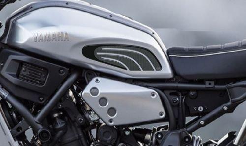 2 Protections Latéral 3D Réservoir Compatible Moto Xsr 700 Yamaha XSR700