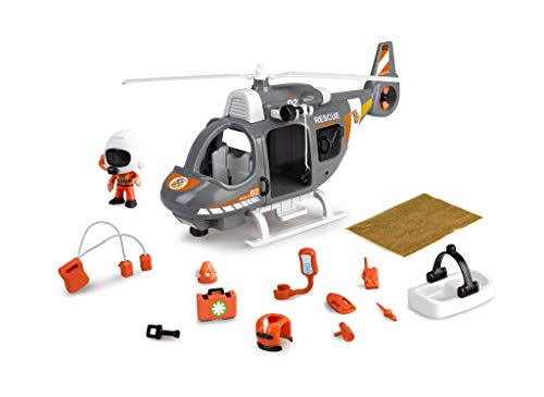 Pinypon Action - Helicóptero de Rescate con 1 Figura con Ac