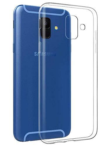 COPHONE Hülle Kompatibel mit Samsung Galaxy A6 2018 Transparent Silikon Schutzhülle für Galaxy A6 2018 Case Clear Durchsichtige TPU Bumper Galaxy A6 2018 Handyhülle