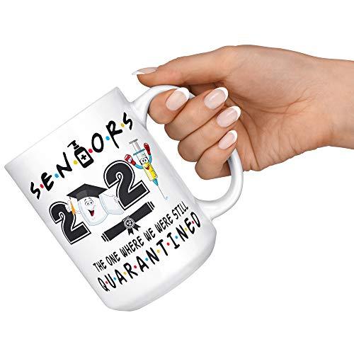Seniors 2021 Coffee Mug, Senior Quarantined 2021 Mug, Class of 2021 Coffee Mug, Graduation 2021 Coffee Mug, Graduation Quarantine Mug, Senior Mug, Grad Gift for Graduates, Funny Graduation Gifts