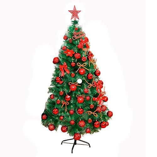 SuRose Weihnachtsdekoration Baum, Kreative Kiefernnadeln Weihnachtsdekoration Baum Dekoration Tasche, Künstliche Interieur Verschlüsselung Dekoration Weihnachtsbaum Rahmen Dekoration 5 Fuß
