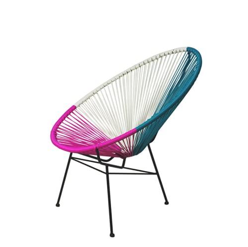 Sillón Sillón Relajante con reposapiés, Sistema Push-Open, Silla reclinable reclinable en Madera Maciza China, Color