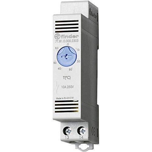 Finder Serie 7T Thermostat Wandbild 1Schließer 10A Kontakt offen