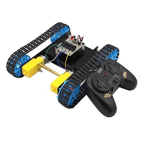 perfeclan Kit De Robot, Control Remoto 2.4G + Kit De Oruga