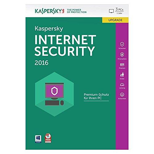 Kaspersky Internet Security 2016 Upgrade - 3 PCs / 1 Jahr [import allemand]