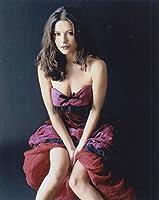 大きな写真、キャサリン・ゼタ・ジョーンズ、深紅のドレス