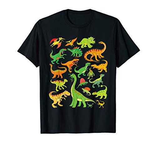 T-Shirt Dinosaurier Jungen Herren Damen Kinder Dino TShirt