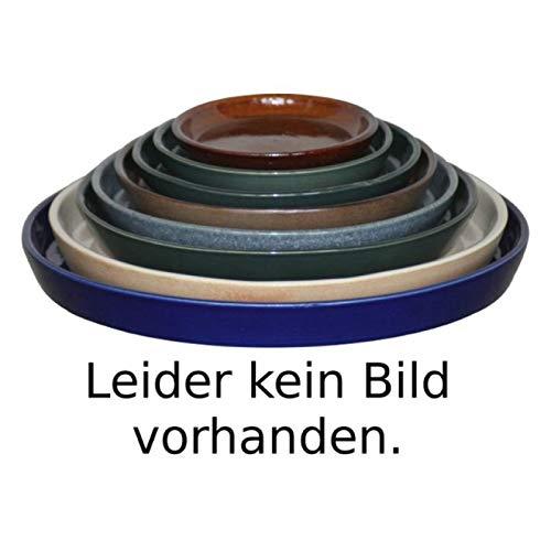 K & K sous coque/soucoupe ronde pour pot de fleurs venus II avec et sans anse Blanc 50 x 40 cm – Ø 40 cm de mat en grès (Céramique Haute Qualité)