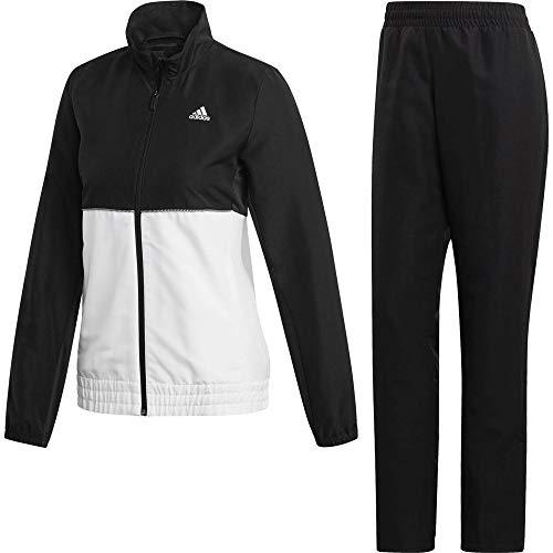adidas W Club TS Chándal de Tenis, Mujer, Negro/Blanco, M