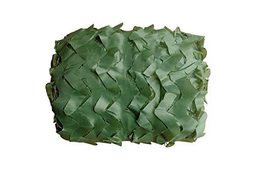 ZSYGFS Camouflage Netting La Red de Camuflaje Verde del ejército se Utiliza para Ocultar la sombrilla Tiro de protección para Acampar al Aire Libre del Bosque, Multi-Size (Size : 6m*6m)