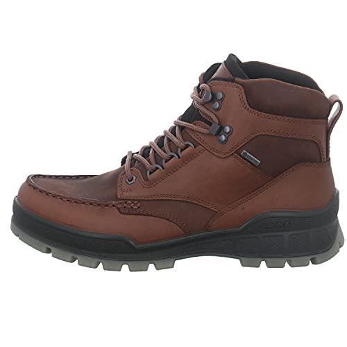 ECCO mens Track 25 High Gore-tex Hiking Boot, Bison/Bison Oil Nubuck, 11-11.5 US