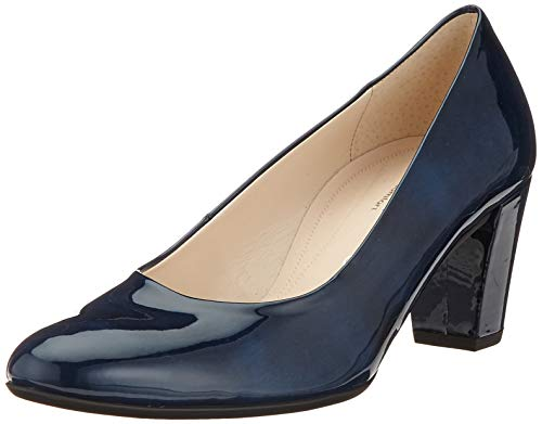 Gabor Shoes Damen Comfort Fashion Pumps, Blau (Marine 86), 37 EU