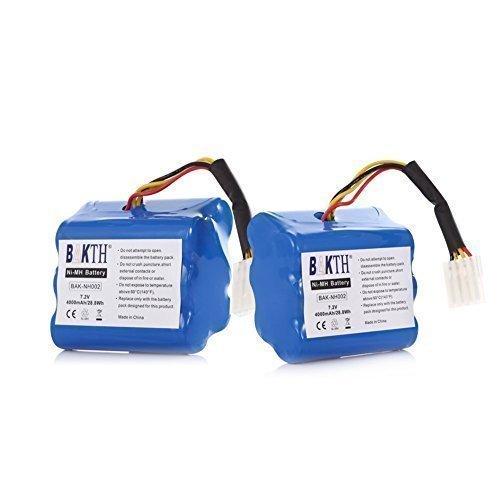 BAKTH alta capacità 7.2V 4000mAh Neato XV-11 XV-12 XV-15 XV-21 aspirapolvere batteria del rimontaggio per Neato Robotics 945-0005 205-0001 945-0006 945-0024 (12-mese-garanzia).