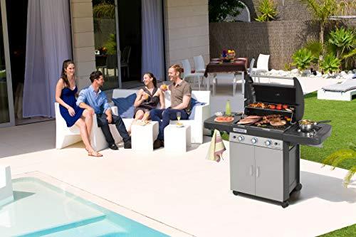 Campingaz 3 Series Classic LS Plus Barbecue a Gas, Nero/Argento, 144 x 66 x 147 cm