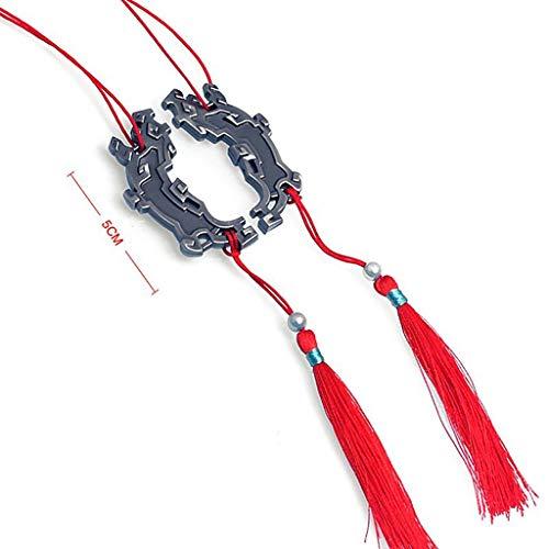 BYWL Grandmaster of Demonic Cultivation 1/3 5 cm Metal Chinese Accessories Collection Aleación Figura de Acción Arte Regalo Modelo Juguete Prop Llavero
