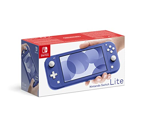 Console Nintendo Switch Lite Bleu